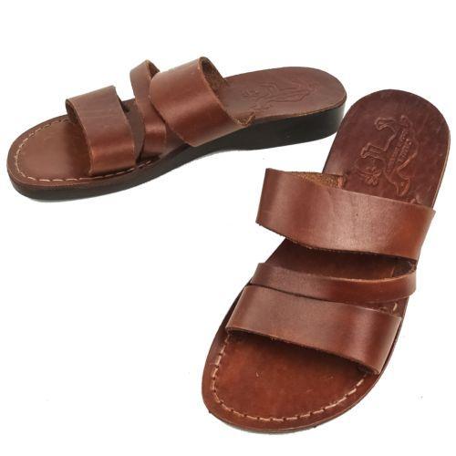 Camel Jerusalem Jesus Sandals Leather Biblical Made in Israel Shoes EU