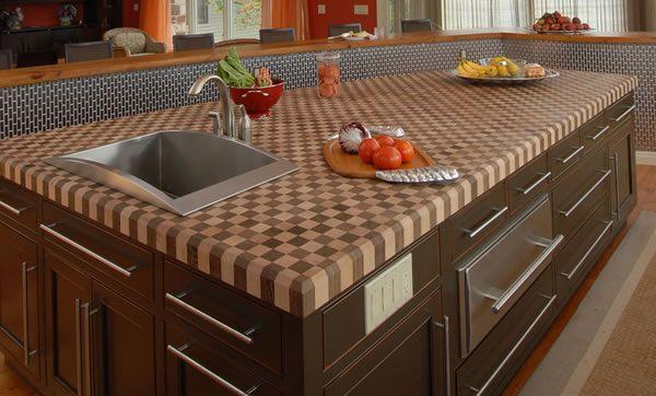Choices for Kitchen Countertop Designs  kitchen  Pinterest