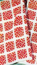 Polka Dot Blanket | Crochet Free Pattern