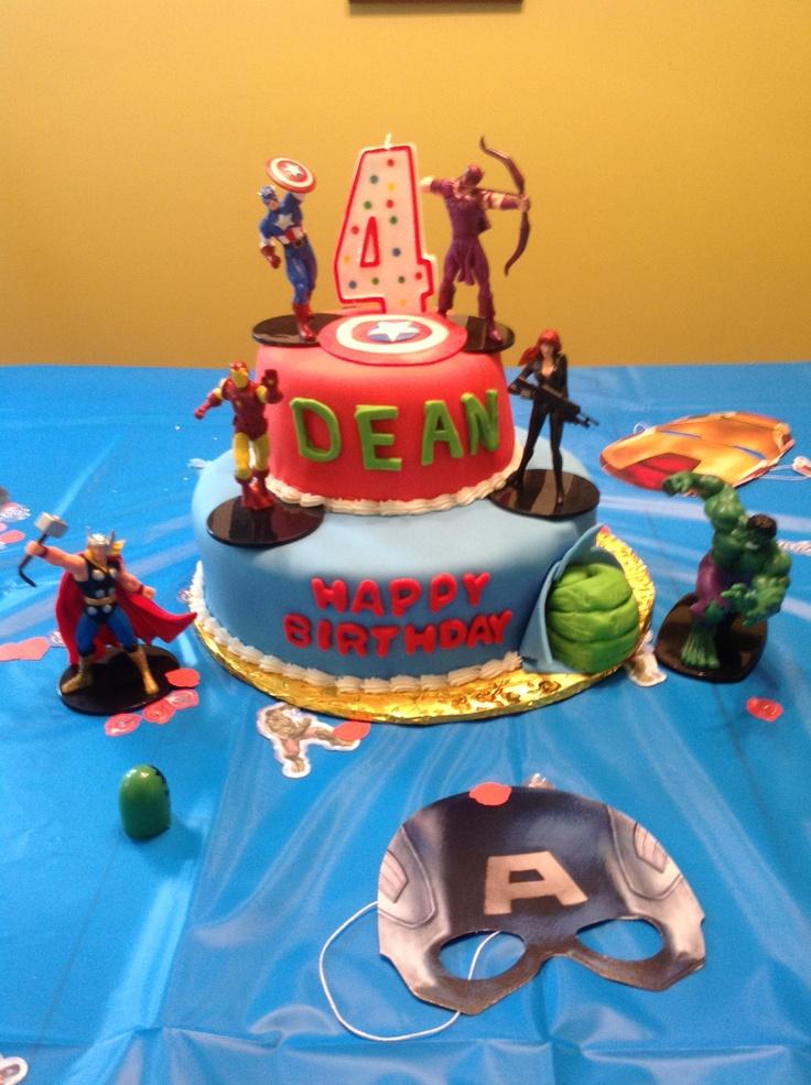 Pin Avengers Birthday Cake Ideas Taurans Cake on Pinterest
