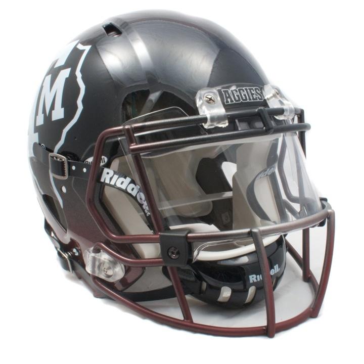 ... AM Snow Bowl 2012 - Johnny Manziel, Johnny Football - Football Helmet