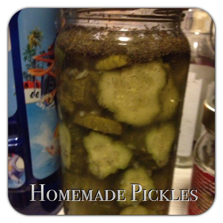 Homemade Refrigerator Pickles | Recipes | Pinterest