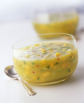 Chilled Mango and Cucumber Soup | Recipe