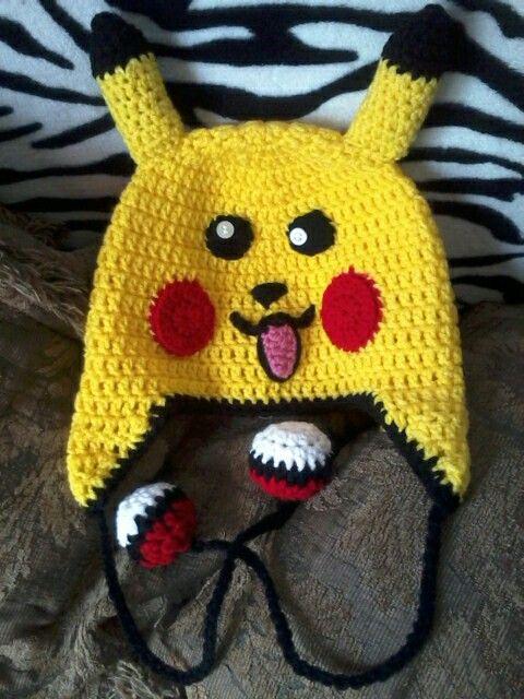 Crochet Pattern Pikachu Hat Traitoro For