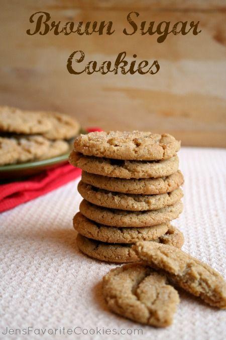Brown Sugar Cookies from Jen's Favorite Cookies the cookies are in the ...