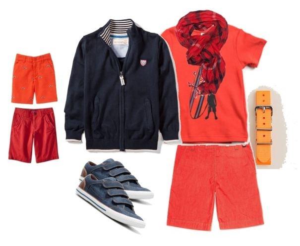 hot boyswear - fire-red/orange