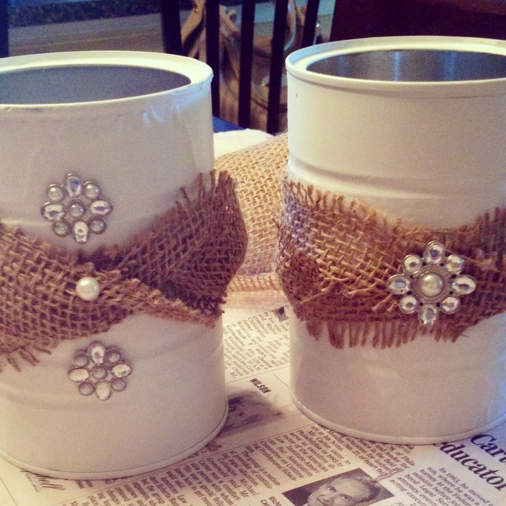 Coffee can crafts brittanybedazzles craft ideas pinterest for Coffee crafts