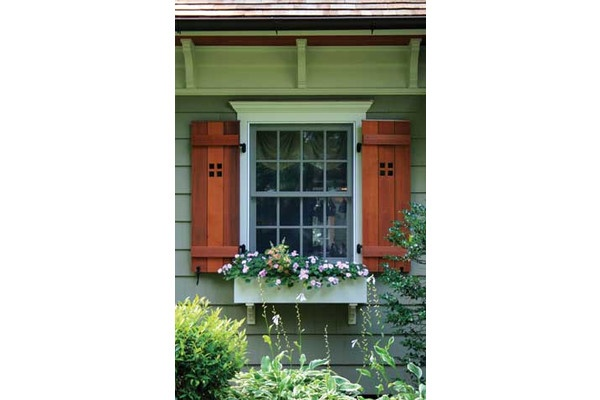 Craftsman style shutters build it craftsman style for Mission style shutters