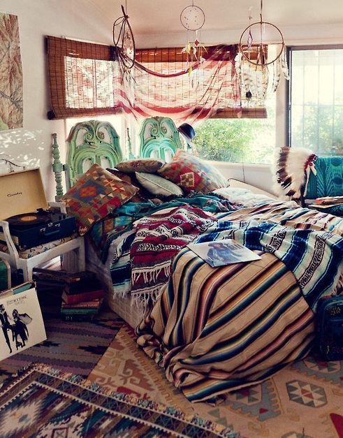 Hipster teen bedroom idea Bedroom Ideas Pinterest