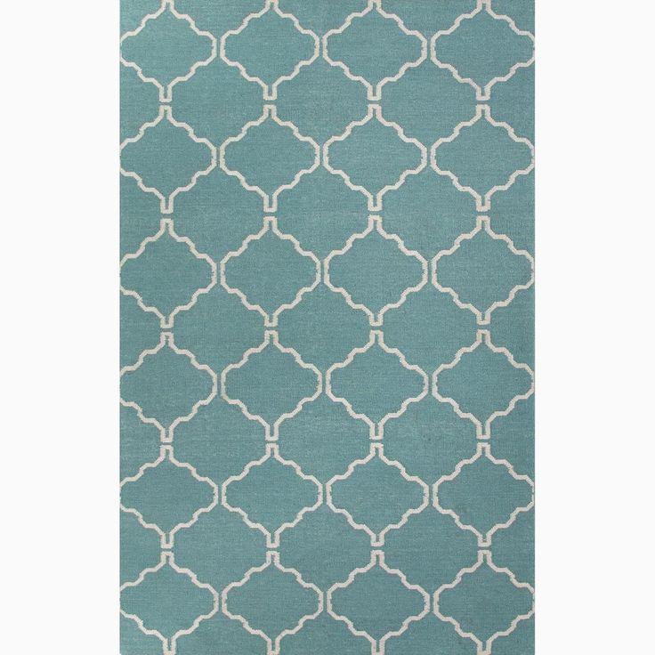 handmade moroccan pattern blue