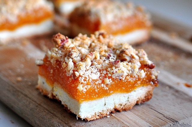 Baked NYC's Rosemary Apricot Bars | Desserts | Pinterest