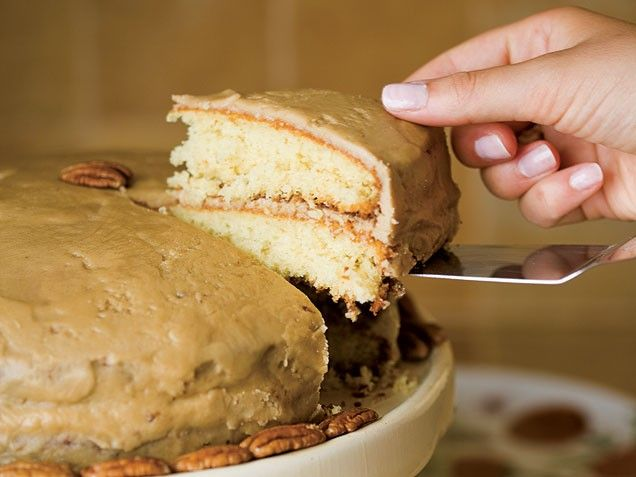 Grandma's Caramel Cake - This recipe comes from my grandmother Ruth ...