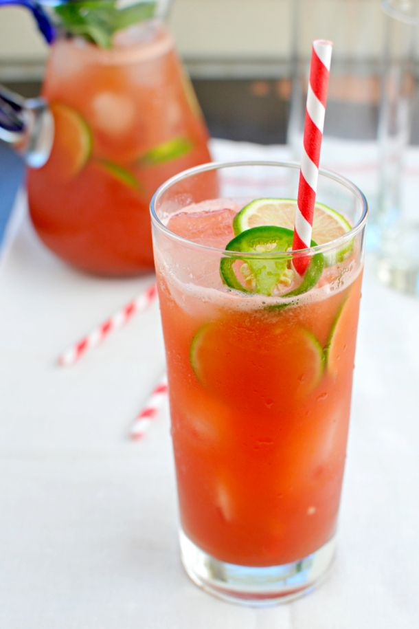 Jalapeño Watermelon Agua Fresca - a drinko for Cinco // the pig ...