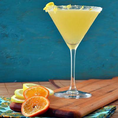Classic Lemon Drop Martini | A-Z | Pinterest