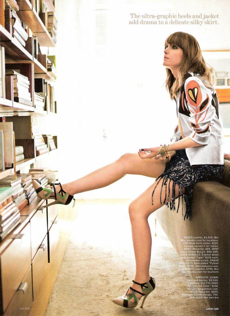 Rose Byrne | Lucky Magazine July 2011
