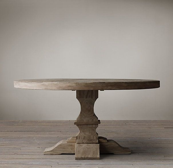 Restoration hardware breakfast table dream home sweet for Dining room tables at restoration hardware