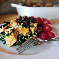 Sausage-Kale Strata | Mmmm tasty! | Pinterest