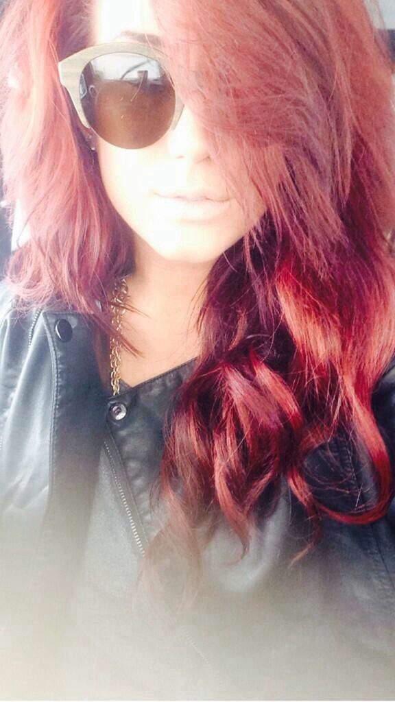 Teen Mom Chelsea Houska Red Hair