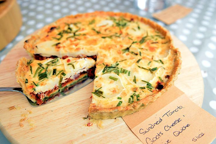Potato-Crusted Quiche With Pancetta, Sun-Dried Tomatoes ...