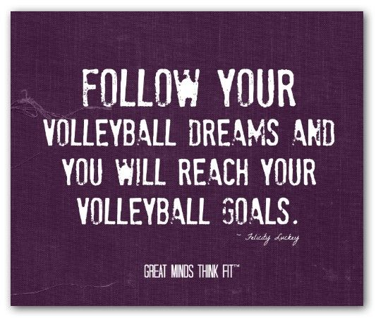 volleyball quotes for girls quotesgram