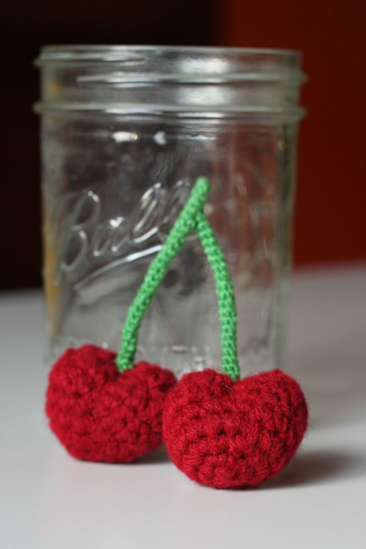 Amigurumi Food: Cherries ~ Free Pattern Handmade Play ...