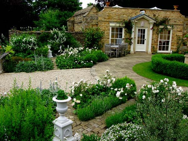 Large country house garden by judith sharpe like the for Country home landscape design