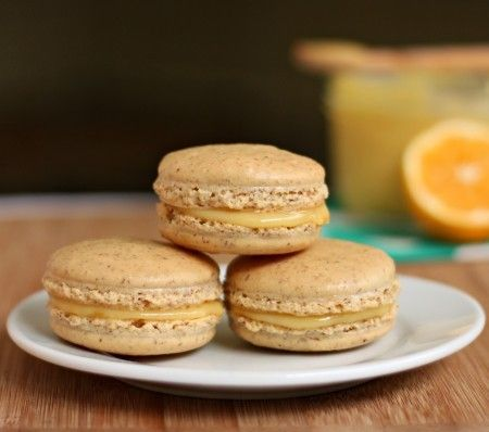 Meyer lemon macarons from 52 Kitchen Adventures - Eat Your Books is an ...