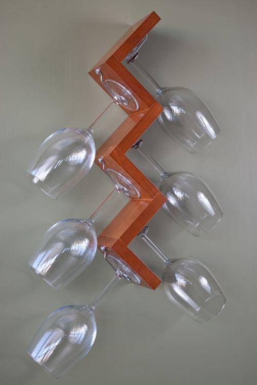 Wine Glass Rack Diy Home Remodeling Pinterest