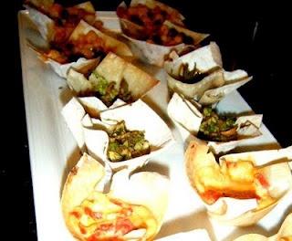 Wonton Cups from Cooking Flexitarian | Food & Entertaining | Pinterest
