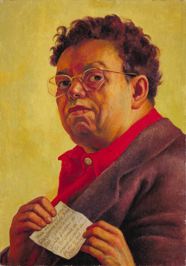 Diego Rivera  Self-Portrait  1941 Diego Rivera Self Portrait Year