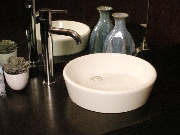 Flat Bathroom Sink : Flat-bowl bathroom sinks... Great creative ideas and DYI :) Pinte ...