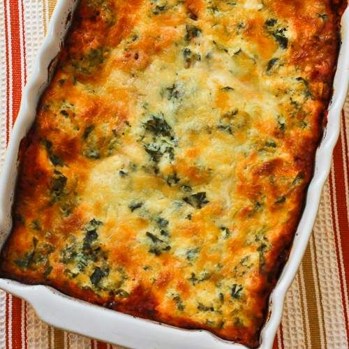 Vegetarian Lasagna with Kale and Mushroom-Tomato Sauce-try using ...