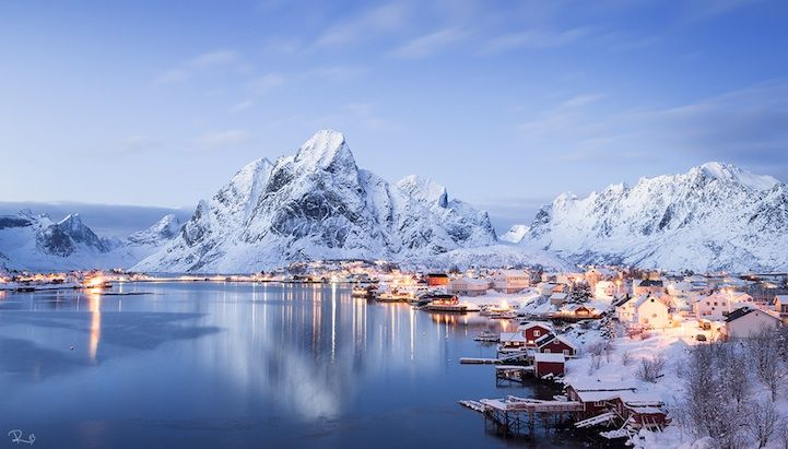 Reine, the most beautiful village in Norway