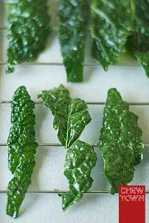 Bites – Baked Crispy Kale Chips