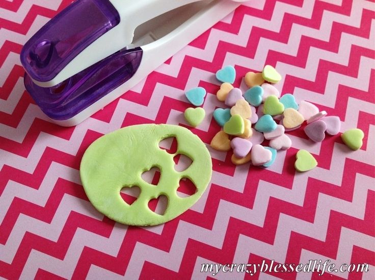 Homemade Conversation Hearts | i need to try this | Pinterest