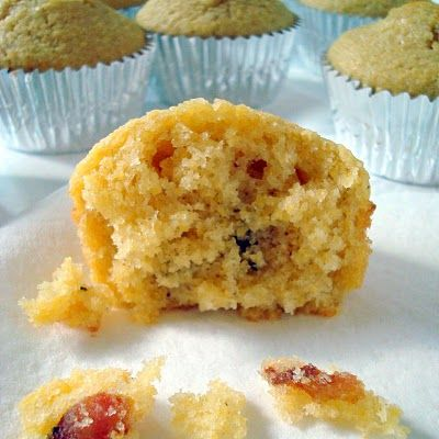 MAPLE BACON CORN MUFFINS...OH MY! Definitely need these on our Fall table!     Recipe: Maple-Bacon Corn Muffins    Ingredients:      * 4 oz. bacon      * 1 cup yellow cornmeal      * 1 cup flour      * 1 Tb. baking powder      * ½ cup sugar      * 1 tsp. salt      * 1 cup milk      * 2 eggs      * ¼ cup melted butter      * ¼ cup maple syrup    Instructions       1. Preheat oven to 400*. Heat a skillet to medium-high. Chop the bacon and cook until slightly crispy. Remove with a slotted spoon and set the skillet aside.     2. In a large bowl combine all dry ingredients. Whisk in the milk and eggs, followed by the melted butter, maple syrup and ¼ cup bacon grease.     3. Stir the bacon pieces back into the mixture.     4. Place muffin liners in a 12-cup muffin tin. Evenly divide the mixture into the liners. Bake for 15 minutes—until golden.     5. Remove from the muffin tin and serve warm.    Preparation time: 15 minute(s)    Cooking time: 20 minute(s)    Number of servings (yield): 12