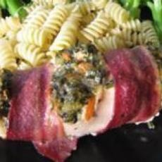 Bacon-Wrapped Chicken Stuffed with Spinach and Ricotta from AllRecipes ...