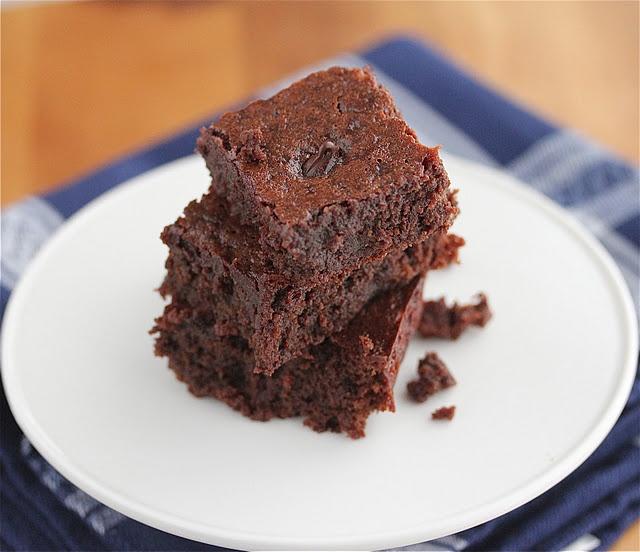 Gluten-Free Dark Chocolate Brownies {Adopt-A-Gluten-Free Blogger