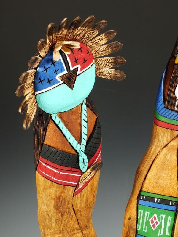 native american zuni kachina dolls art pinterest
