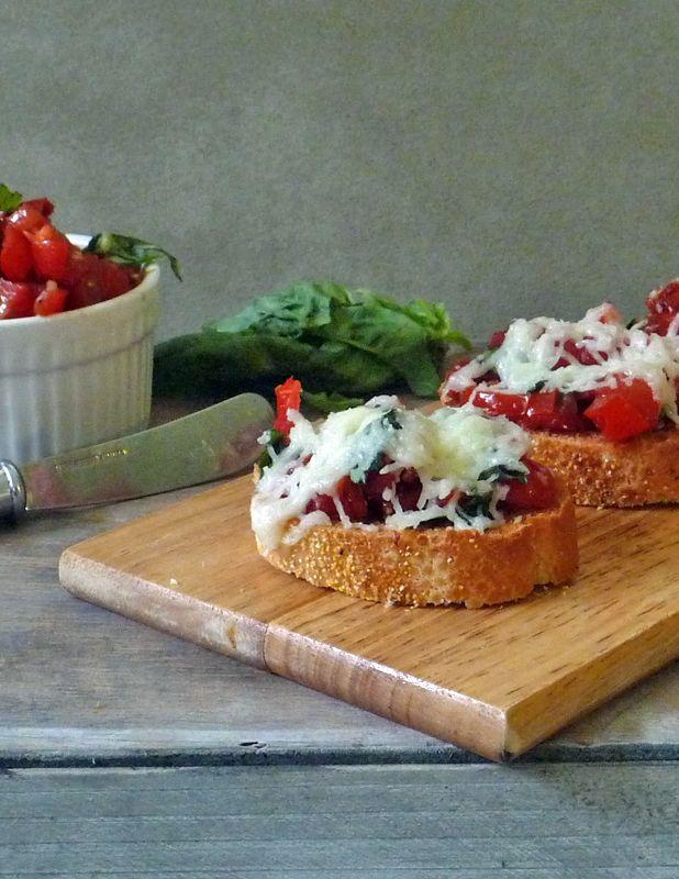 Double Tomato Bruschetta | Food: Good Eating | Pinterest
