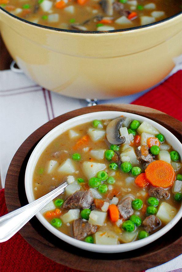 Beef and Barley Stew | Dinner | Pinterest