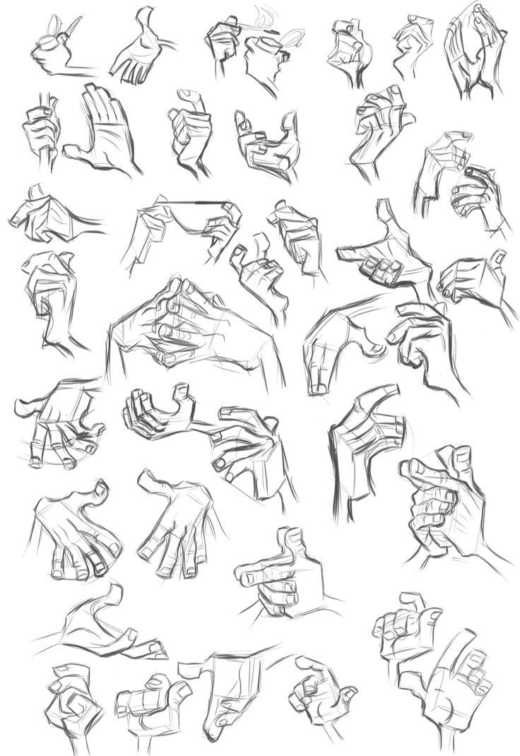 Character Design Sheet Tutorial : Milt kahl hands google pinterest