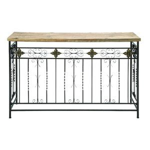 Woodland Imports Console Table Woodland Imports Rustic Console Table-- i STILL WANT TO MAKE ONE OF ...