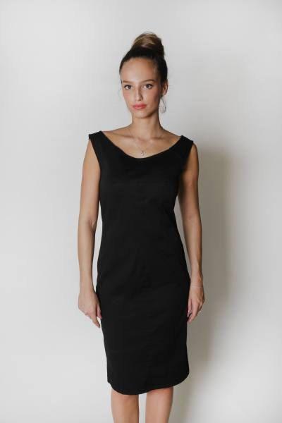 Cij sale little black women dress classic black mini dress elegant