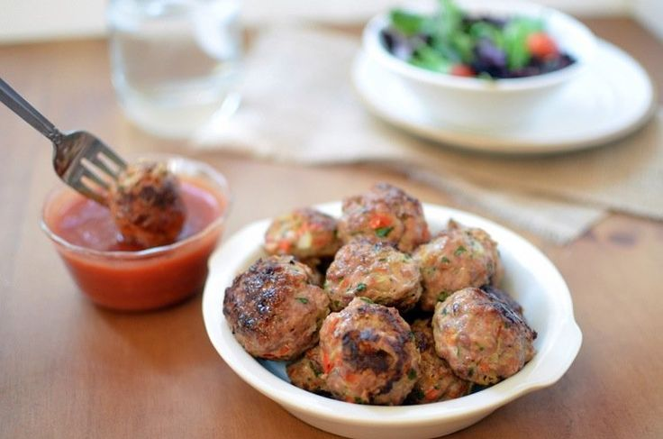 Turkey meatballs | straight nom'in | Pinterest