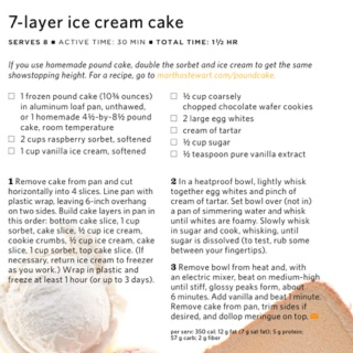 ... layer ice cream cake recipe loveourcrazylife delicious 7 layer ice