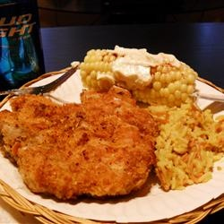 Sage Pork Chops (http://allrecipes.com/recipe/parmesan-sage-pork-chops ...