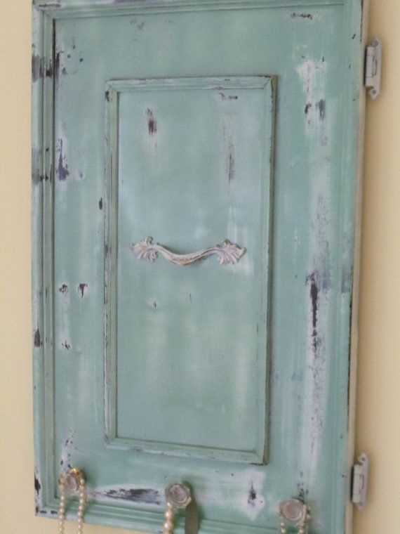 There 39 S That Mint Color Again Cabinet Doors Upcycled