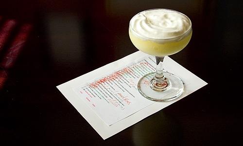 El Bulli's Hot-Frozen Gin Fizz #drinks #Gin