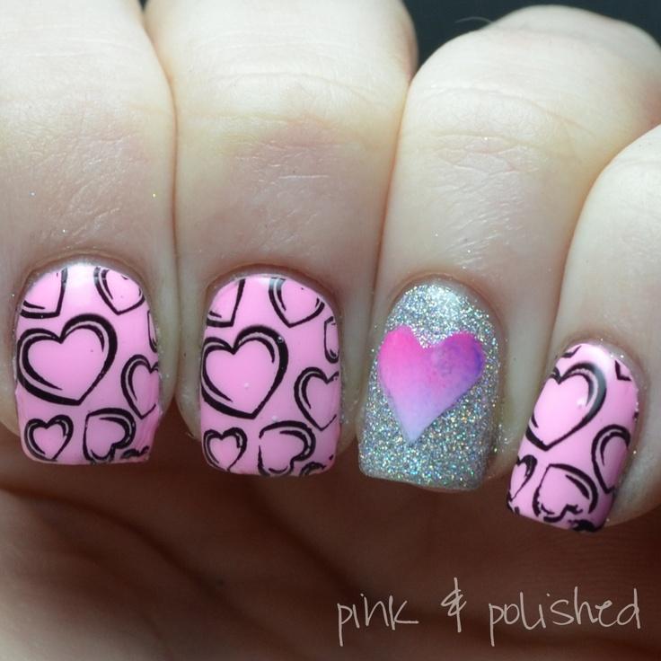 valentine nail polish colors